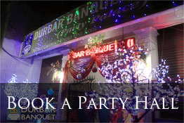 Book a Party Hall